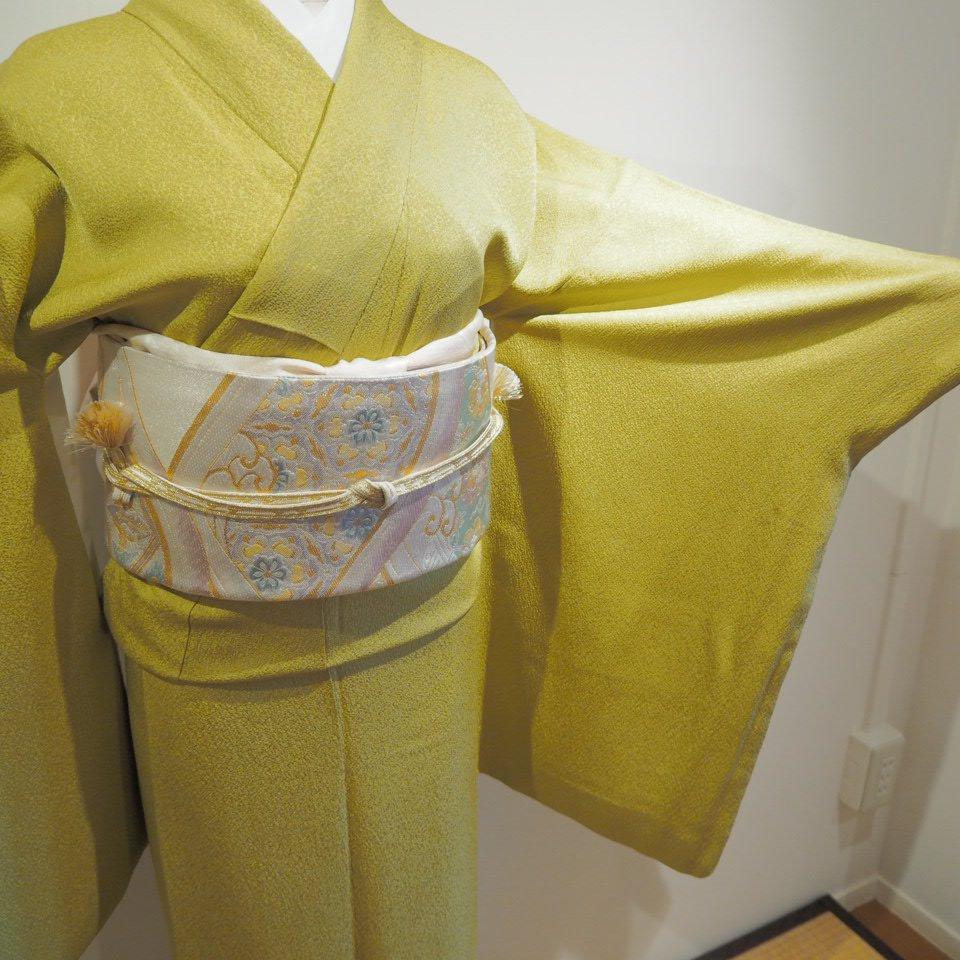 レンタル着物一式 色無地(正絹)袷 RI-11のイメージその2