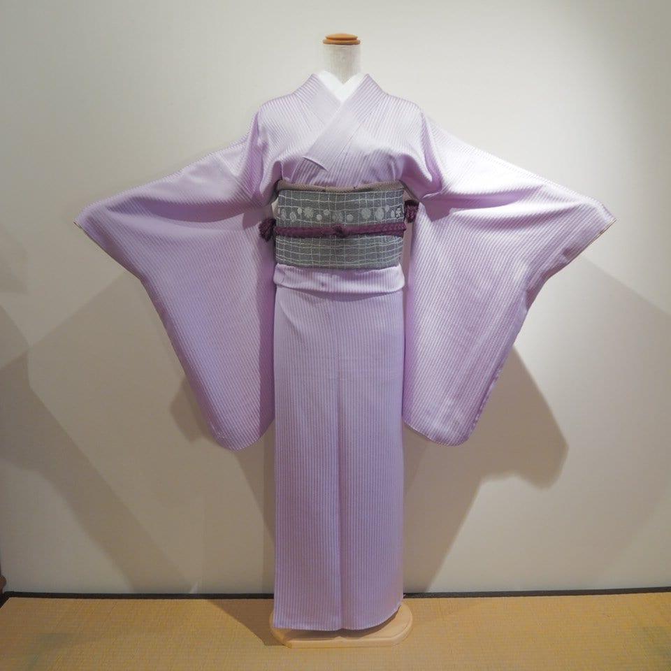 レンタル着物一式 色無地(正絹)袷 RI-09のイメージその1