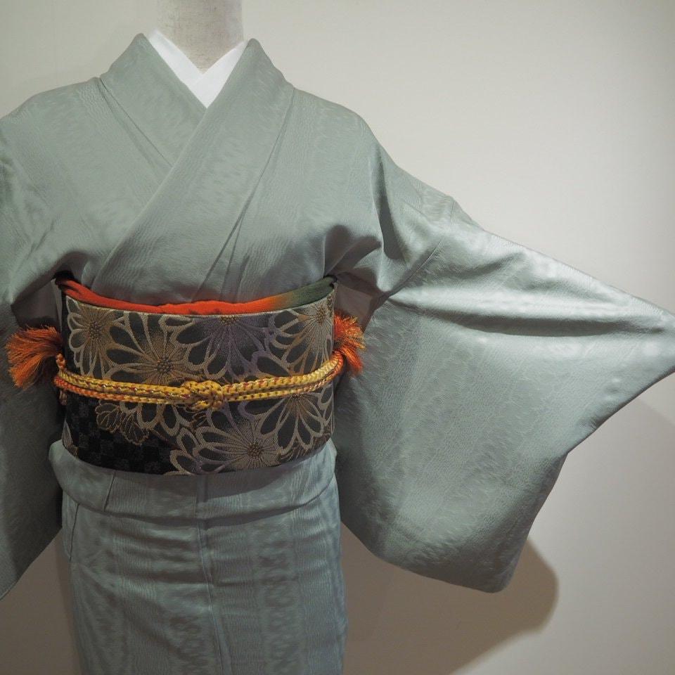 レンタル着物一式 色無地(正絹)袷 RI-07のイメージその2