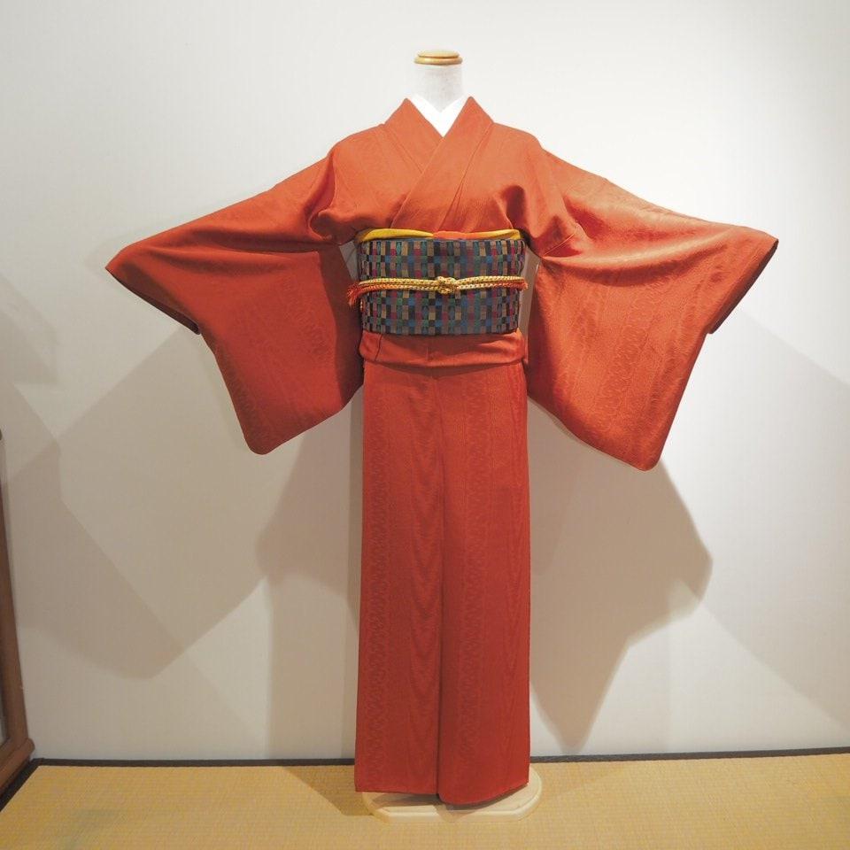 レンタル着物一式 色無地(正絹)袷 RI-01のイメージその1