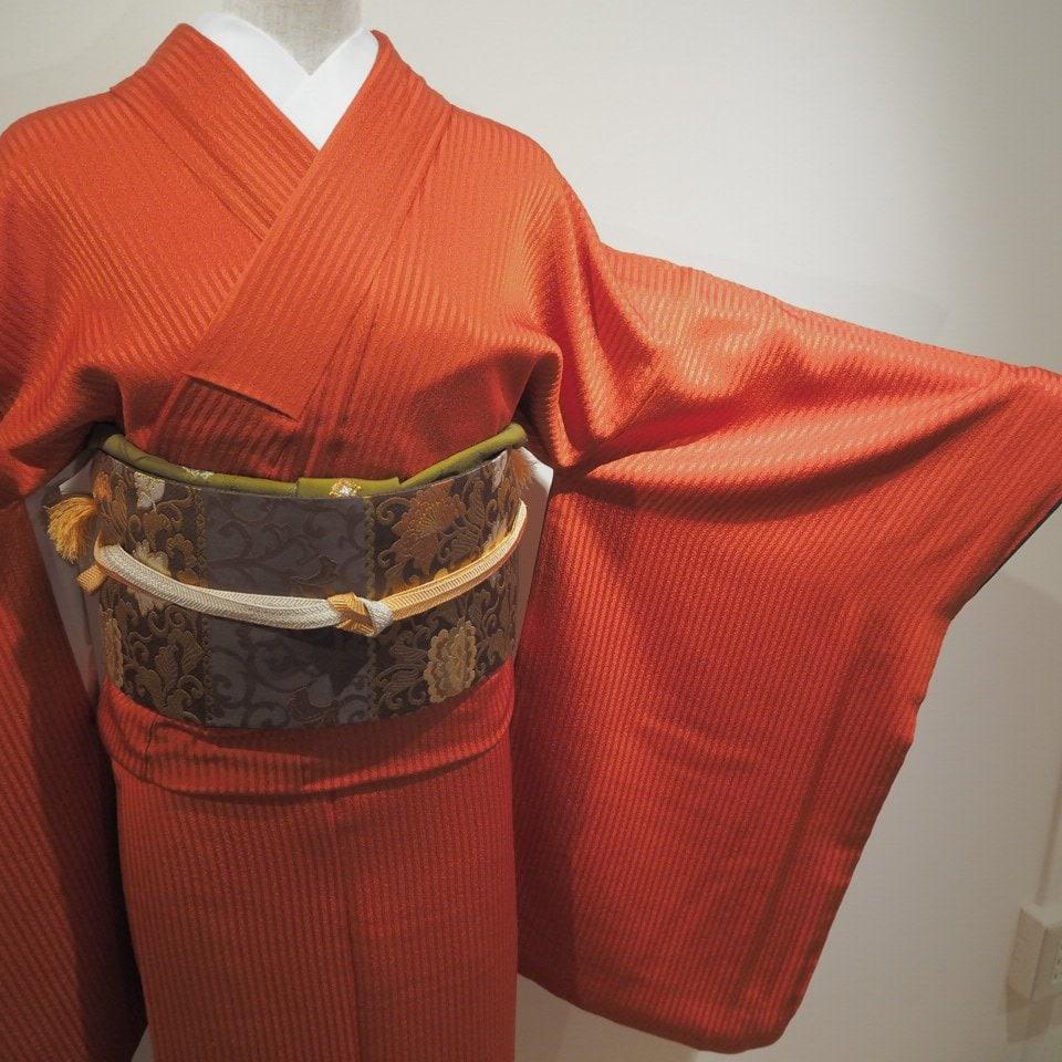 レンタル着物一式 色無地(正絹)袷 RI-02のイメージその2