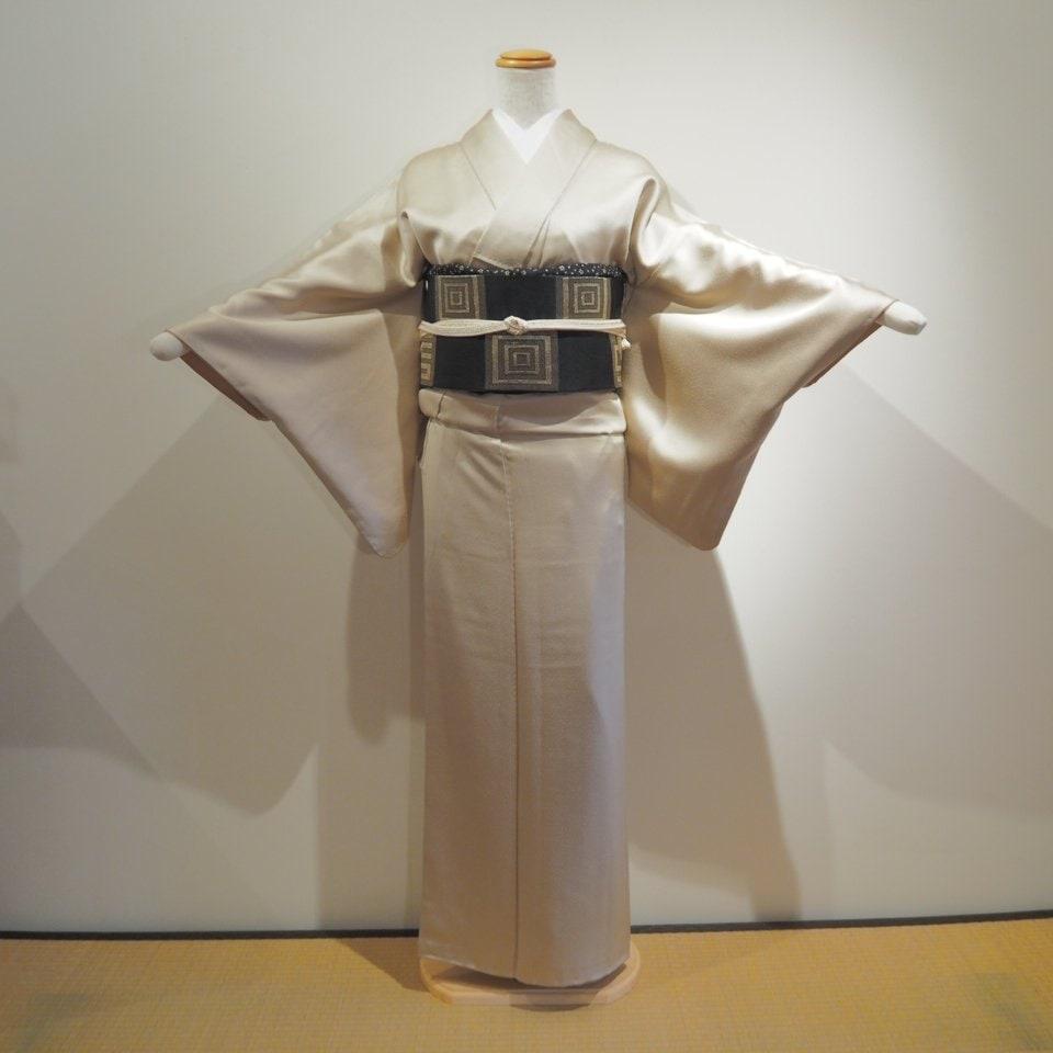 レンタル着物一式 色無地(正絹)袷 RI-12のイメージその1