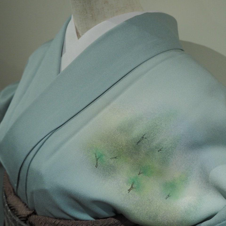 レンタル着物一式 訪問着(正絹)袷 RH-06のイメージその3