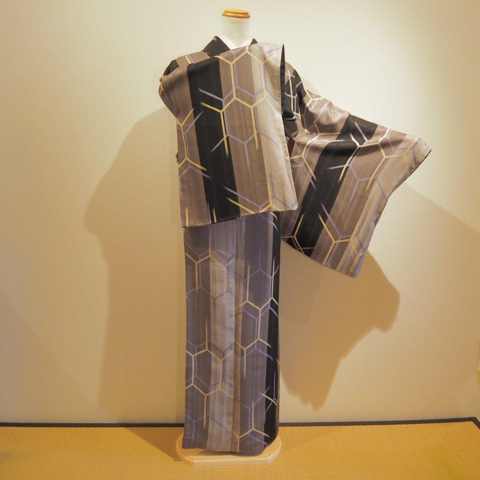 [金額変更]レンタル着物一式 小紋(正絹)袷 RK-01のイメージその4