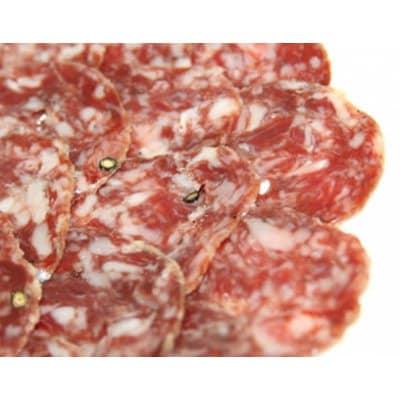 【クール便】スペインサラミ サルチチョン・イベリコ・ベジョータ 約500g