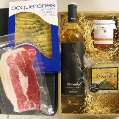 【クール便】夏のスペイン食材とスペインワイン(白/D.O.ソモンターノ)セ...