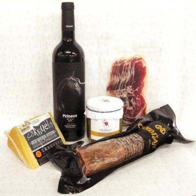 【クール便】スペイン食材とスペインワイン(赤/D.O.ソモンターノ)セット 8500円