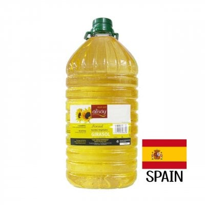 スペイン産 高オレイン酸 (ハイオレイック) ひまわり油 【5リットル】