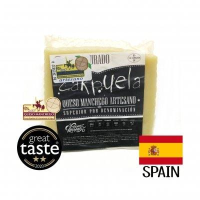 スペイン産羊乳チーズ ケソ・マンチェゴ  Queso Manchego Curado Carpu...
