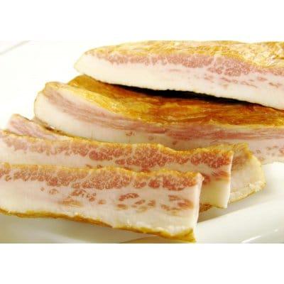 ★新登場・調理無しで食べられます★【クール便】イベリコ豚トントロ燻製(スモークハム)