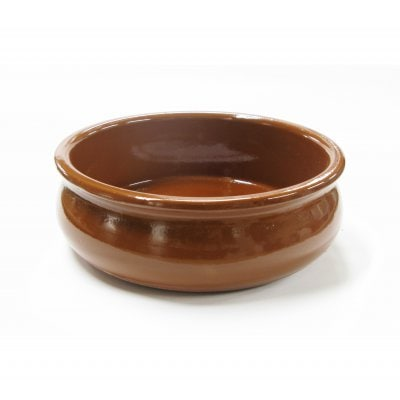 スペイン伝統の耐熱性陶器 カスエラ OVAL 15cm (深めタイプ)