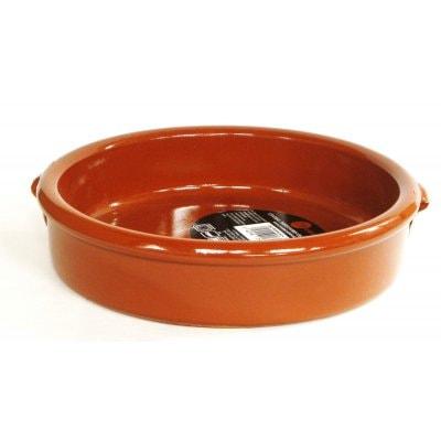 スペイン伝統の耐熱陶器 カスエラVC15cm(取っ手なしタイプ)