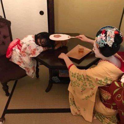 ☆ひなまる祭り☆京町家で舞妓さんと非日常なひと時を♪♪