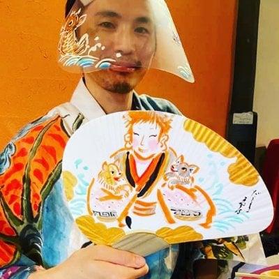 2021.1.11 ノアの方舟ひなまる新年会〜②ハンドパン+だるま商店さん団扇〜
