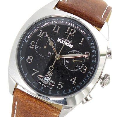 ヴィヴィアン ウエストウッド VIVIENNE WESTWOOD クオーツ メンズ 腕時計 VV176BKTN ブラック