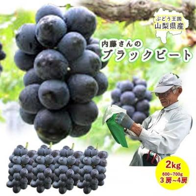 【送料無料】内藤さんのブラックビート秀品2kg