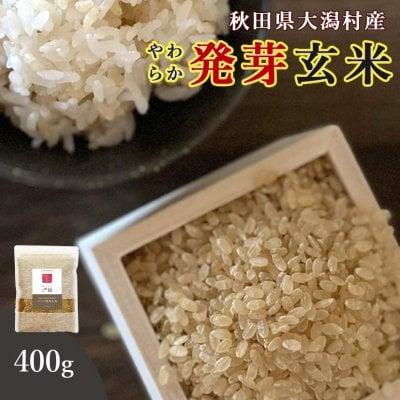 【送料無料】秋田県大潟村産・特別栽培米・発芽玄米400g