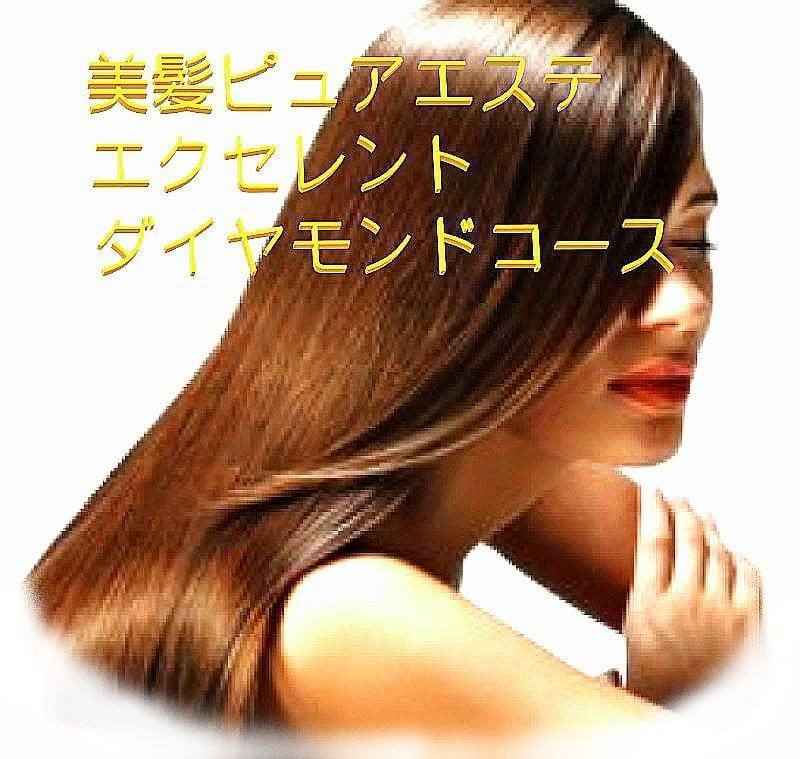美髪ピュアエステ(エクセレントダイヤモンドコース 全6回分)のイメージその1