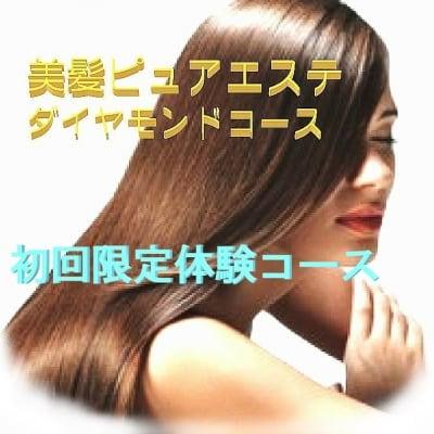 美髪ピュアエステ'初回限定コース(現金店頭払いのみ)
