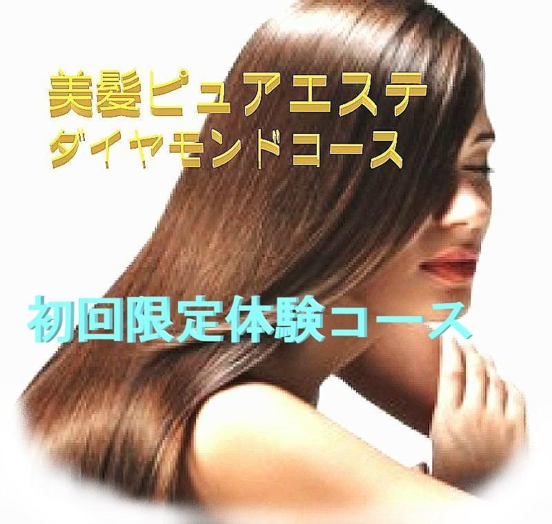 美髪ピュアエステ'初回限定体験コース(現金店頭払いのみ)のイメージその1