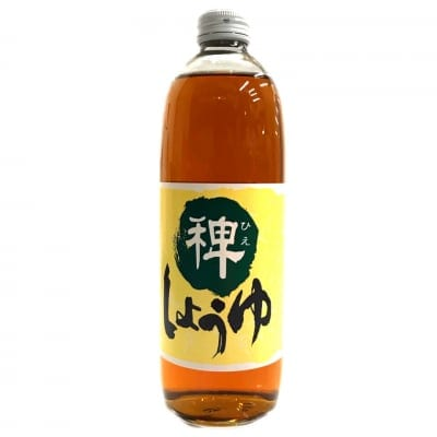 ひえ醤油(500ml)/大豆・小麦を使わずに醸造したしょうゆ