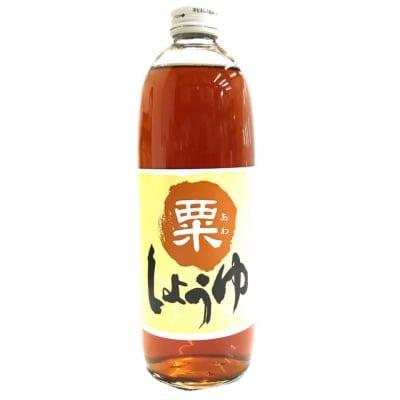 あわ醤油(500ml)/大豆・小麦不使用のしょうゆ