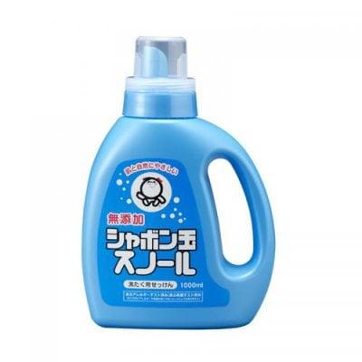シャボン玉スノール1000ml  せっけんベースの液体洗剤