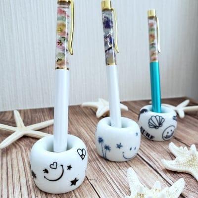 【送料無料】ニコニコにこちゃんペン&歯ブラシスタンド