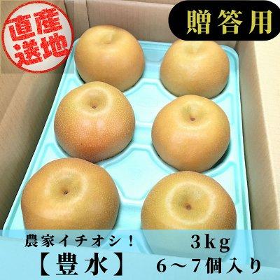 [予約商品]豊水梨/3㎏/6~8個入り