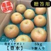 [予約]豊水梨/5㎏/5Lサイズ/8~9個入り