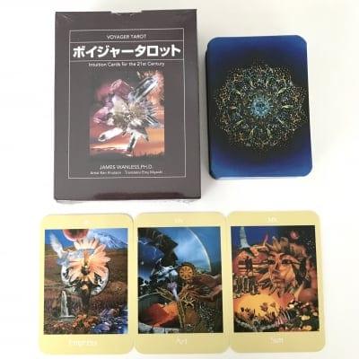 ボイジャータロットカード (日本語解説書付き)
