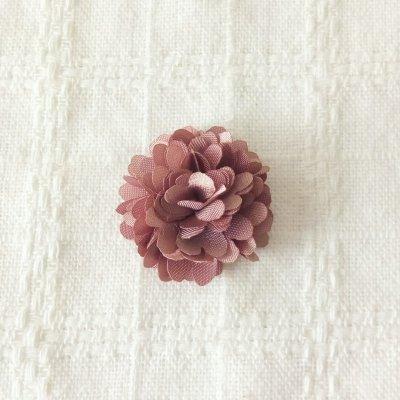 2個入り| 花フラワー 32mm モカピンク | 手芸ハンドメイド