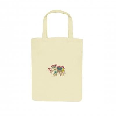 刺繍チャリティバック(Mサイズ)