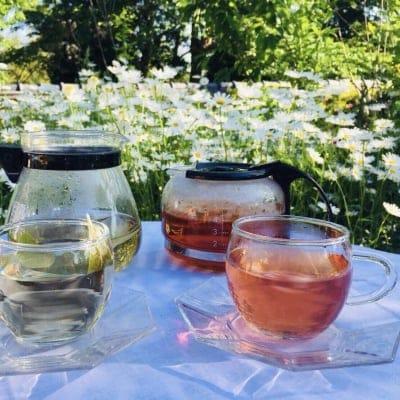 五箇山クロモジ茶 煮出し用【ももいろ枝茶・しろいろ葉茶セット】