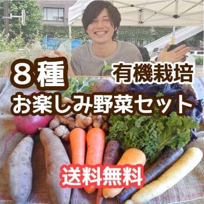 送料無料!無農薬野菜お楽しみセット(8種)