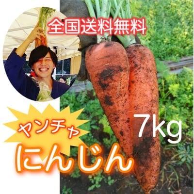 送料無料!無農薬のヤンチャにんじん7kg