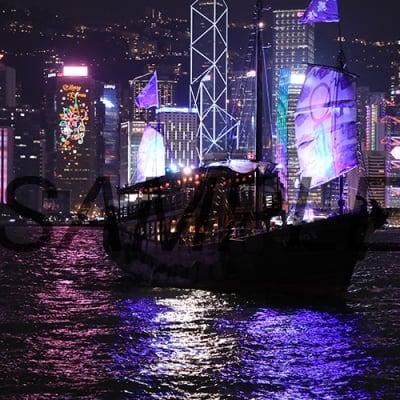 【写真】香港夜景