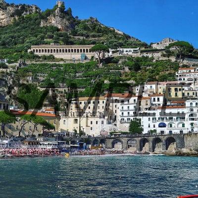 【写真】イタリア アマルフィ風景