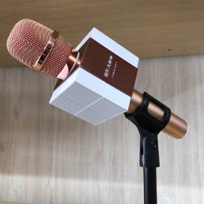 《カラオケや会議で大活躍★》高音質コンデンサーマイクロホン(Bluetoothスピーカー/ワイヤレスマイク/カラオケ機器 対応)