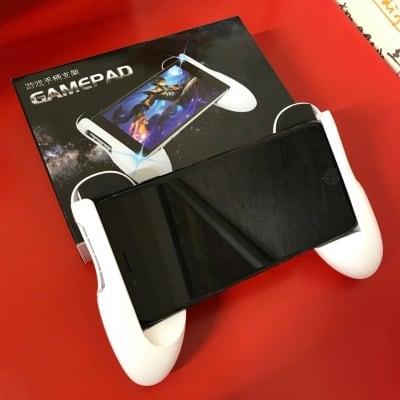 スマホ用 ゲームパッド コントローラー(4.5〜5.7インチまでのスマートフォンに対応)
