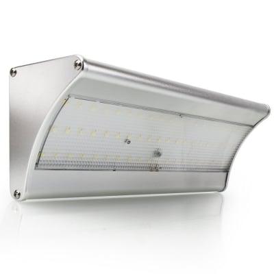 電気代不要0円!!LED ソーラーライト 900lm/48個 [サイズ:22.6cm x 8.0cm x 10.2 cm](ソーラーパネル:5V 3.2W)