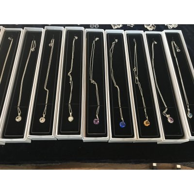 天然水晶ネックレス各種