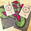 【完売いたしました!】Sustainable Food Wrap アフリカ布/袋タイプ Mサイズ