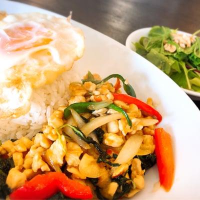 本格シェフから学ぶおとうふでタイ料理教室♡