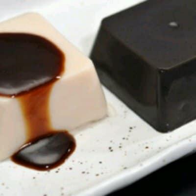 もっちり感と胡麻の香り豊かな風味 なめらか葛ゴマ豆腐