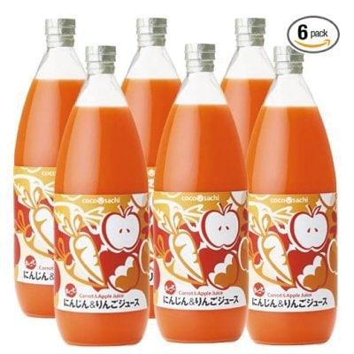 ここさち 丸ごと にんじん&りんごジュース /100%ストレートジュース