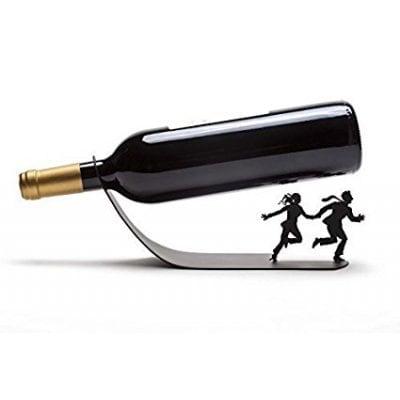 希少!Artori Designワインホルダー  ディスプレイ 卓上ワインラック ブラック【並行輸入品】