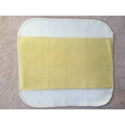 布ナプキン ハンカチタイプ Mサイズ:ヘナ染め