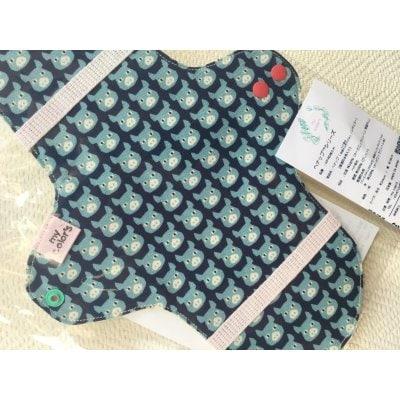 布ナプキン レギュラータイプ(透湿防水布入り)ヘナ染め:1枚