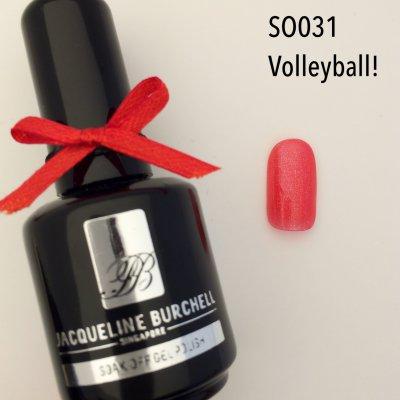 【セルフネイルに簡単!】カラージェル SO031 Volleyball!